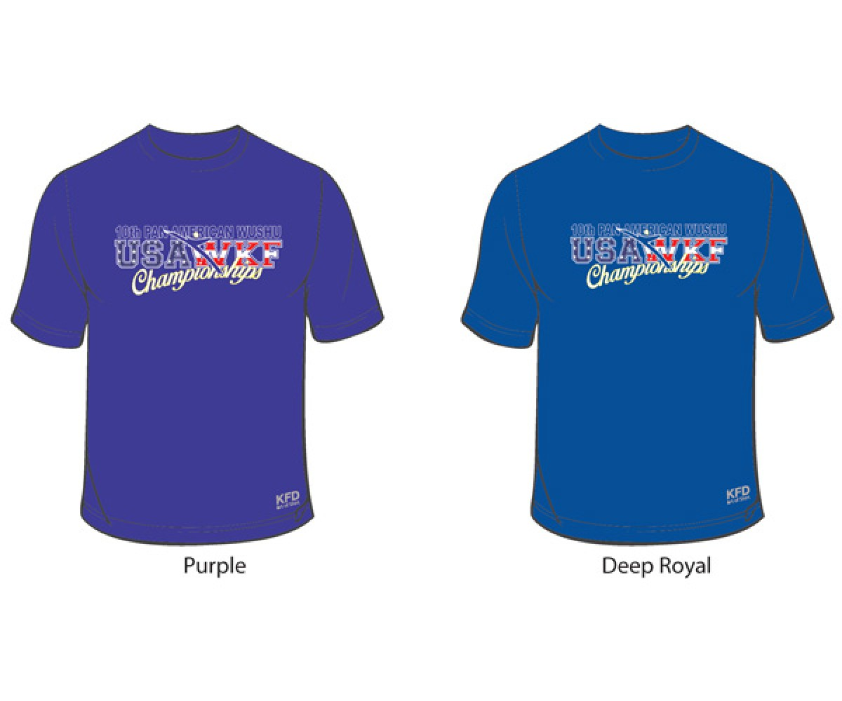 GS2014 - National Wushu Team Shirt 10th PAWC