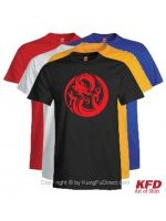 Dragon Design -Custom Mens Cotton T-Shirt