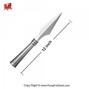 AC009-1 Traditional Stainless Steel Spear Heads _ Medium Size