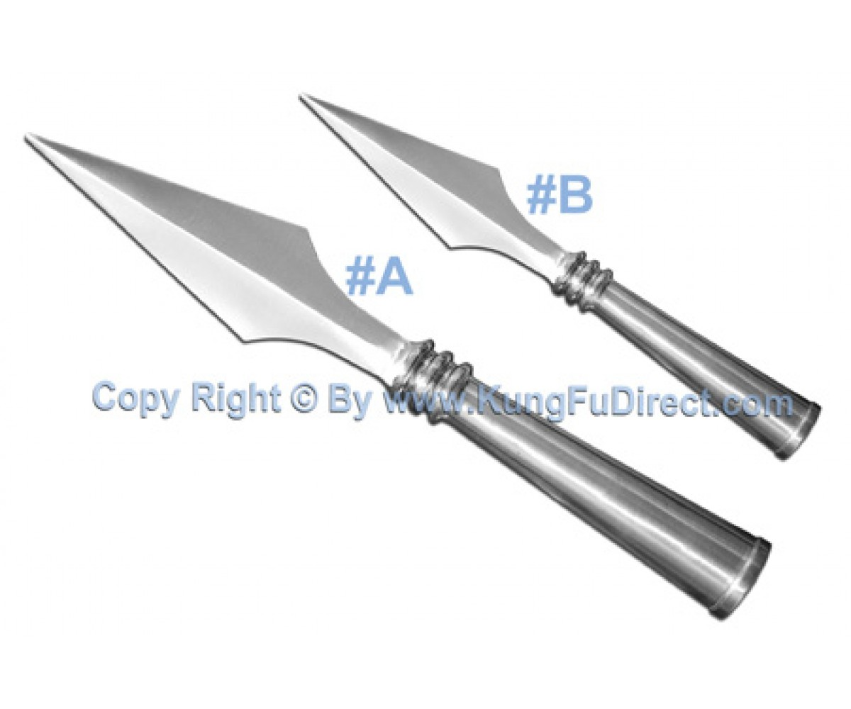 AC009 - Traditional Stainless Steel Spear Heads