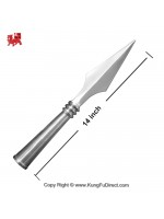 AC009 Traditional Big Stainless Steel Spear Heads