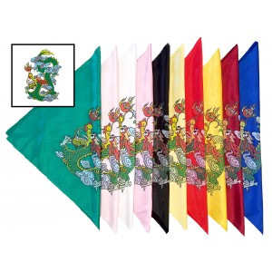 AC0102 - Sword Flags Dragon Design 刀彩