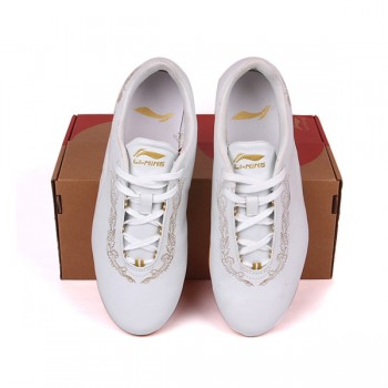 LN086-1 LI-NING White KungFu/Tai Chi Shoes -Final Sale!