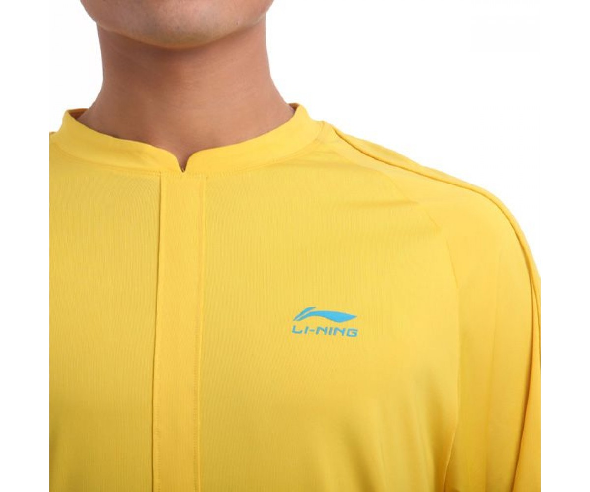 LN019-4 Li-Ning Training Shirt Yellow