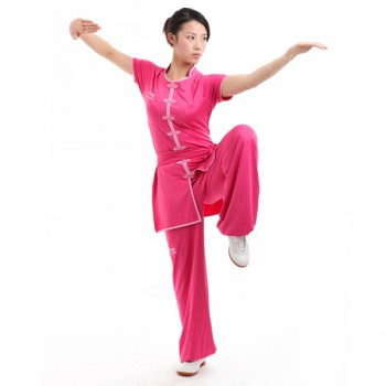 LN102-4 - Li-Ning Southern Style Uniform Pink (Female) 南派比赛服