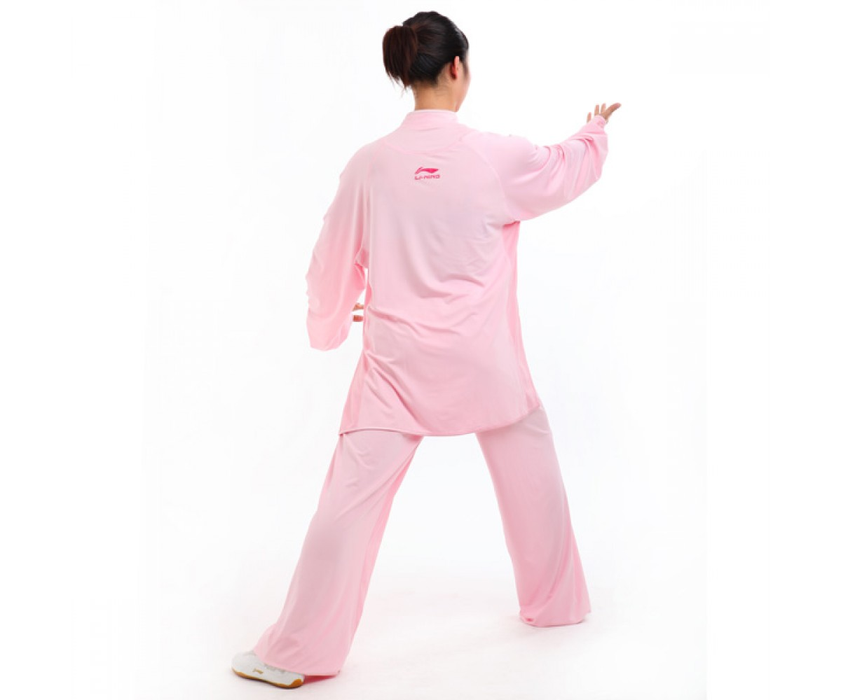 LN108-1 - Li-Ning Pink Long sleeve Uniform (Female) 女子粉色长袖比赛服