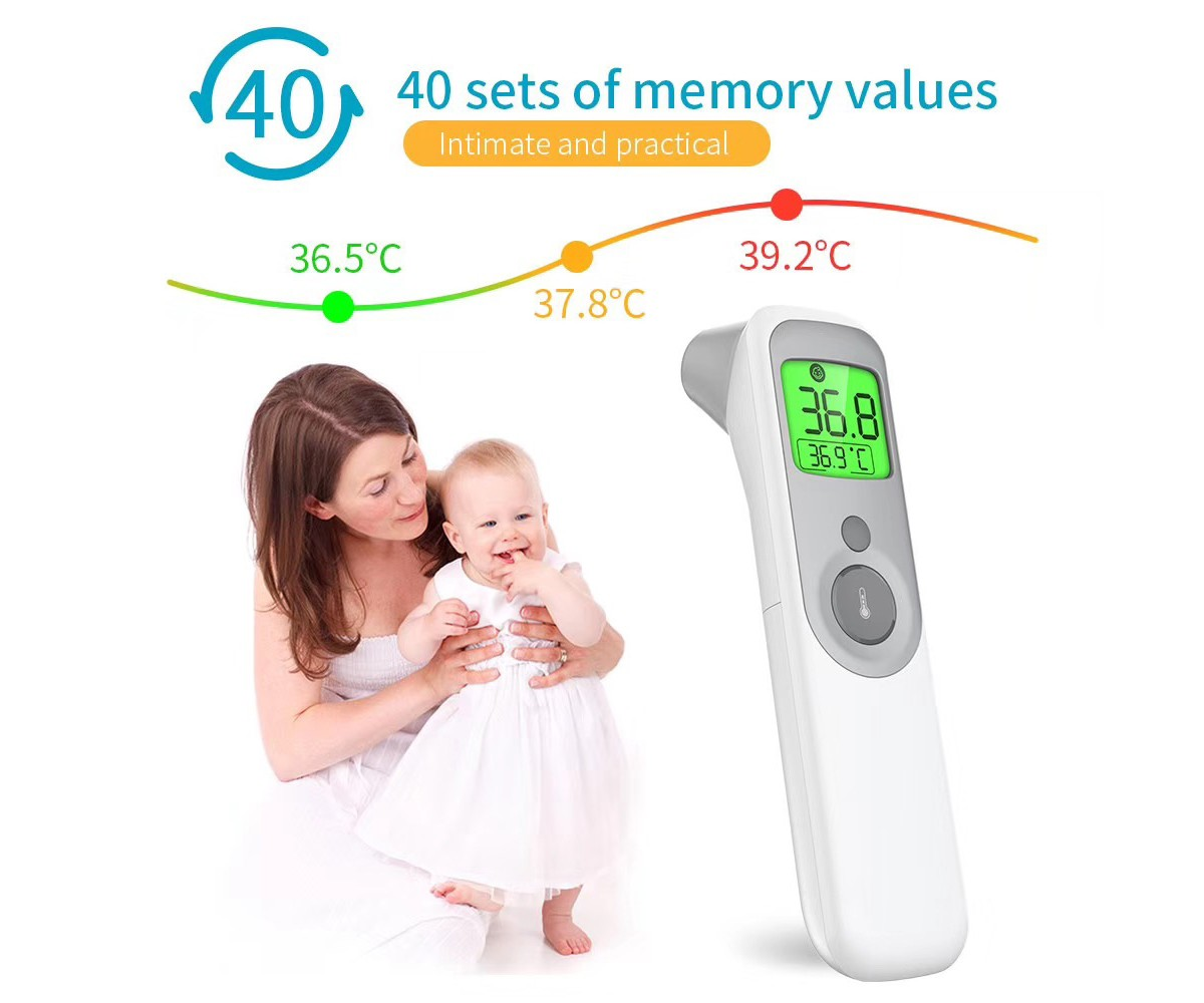 AOJ-20A Clinical Non-contact Thermometer Infant and Adults Forehead Thermometer