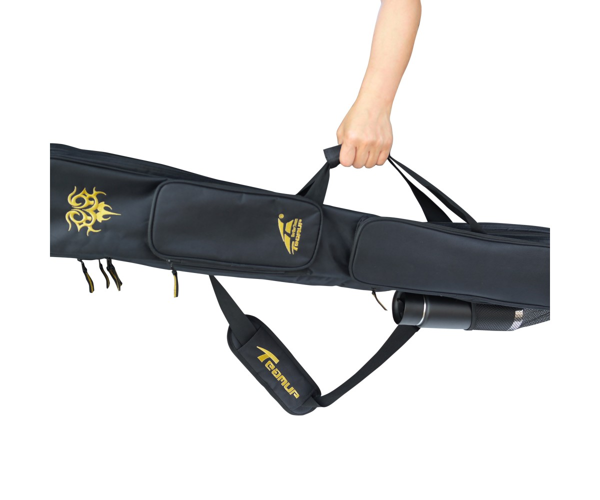 AC023 - Premium Dragon Design Martial Arts Weapon Carrying Bag, Double Layer_ 47 inch
