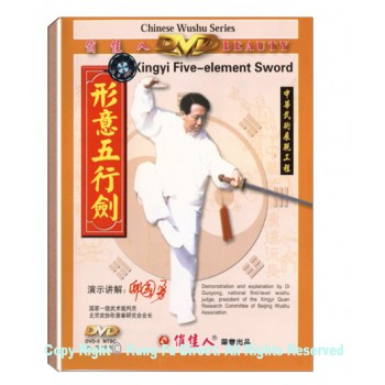 DW079-03 - Xing Yi Series- Five Element Straight Sword