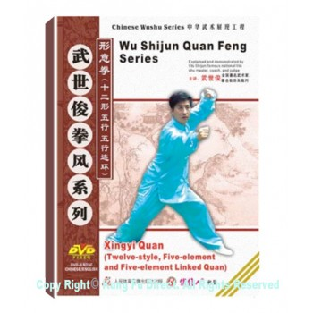 DW118-05 - Shanxi Xingyi Quan (Twelve Animals, Five-element, and Five-element interlinked Fist)