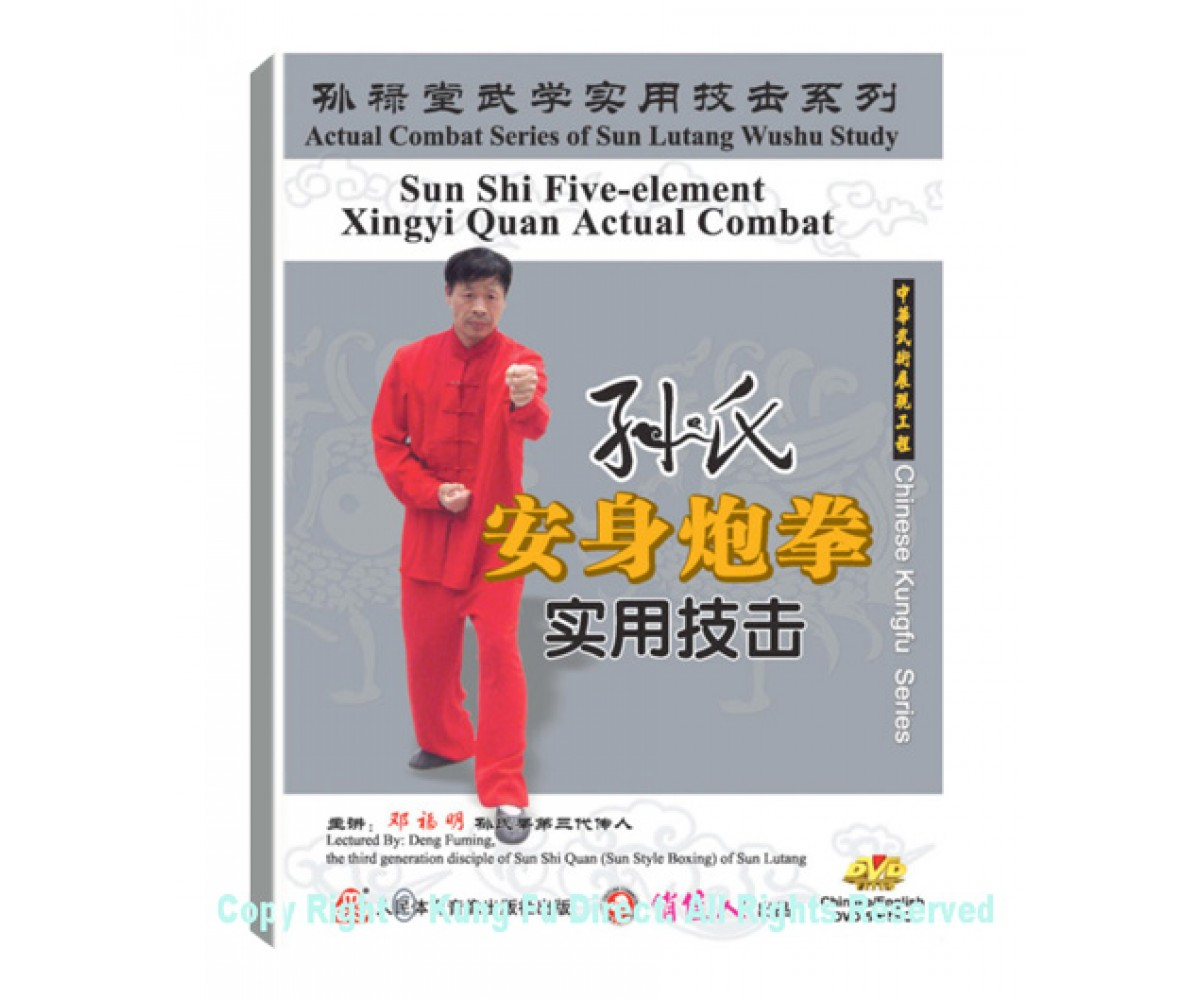 DW134-05 - Sun Shi Xing Yi An Shen Pao Fist Combat Application