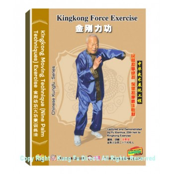 DW150-01 - Kingkong Moving Technique (Nine Palm Techniques) Exercise