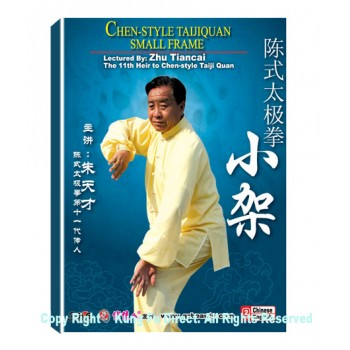 DW166-08 - Chen Style Tai Chi New frame Routine two by Zhu TianCai 3DVDs