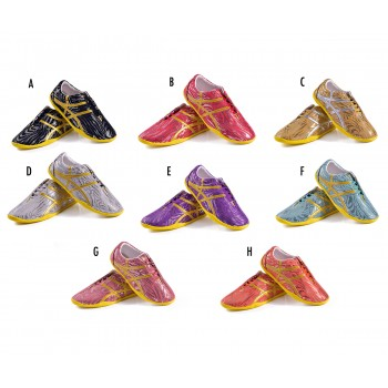 FT001 - Metallic High Performance Da-Ye Wushu Shoes (Pre-order only)