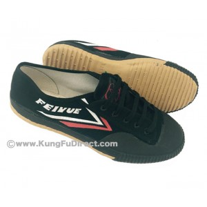 FT010 - Top One Feiyue Shoes - Black
