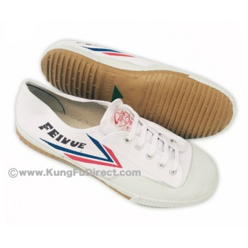 FT011 - Top One Feiyue Shoes - White