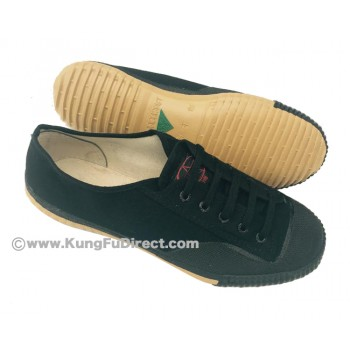 FT013 - Top one Feiyue Shoes - Pure Black