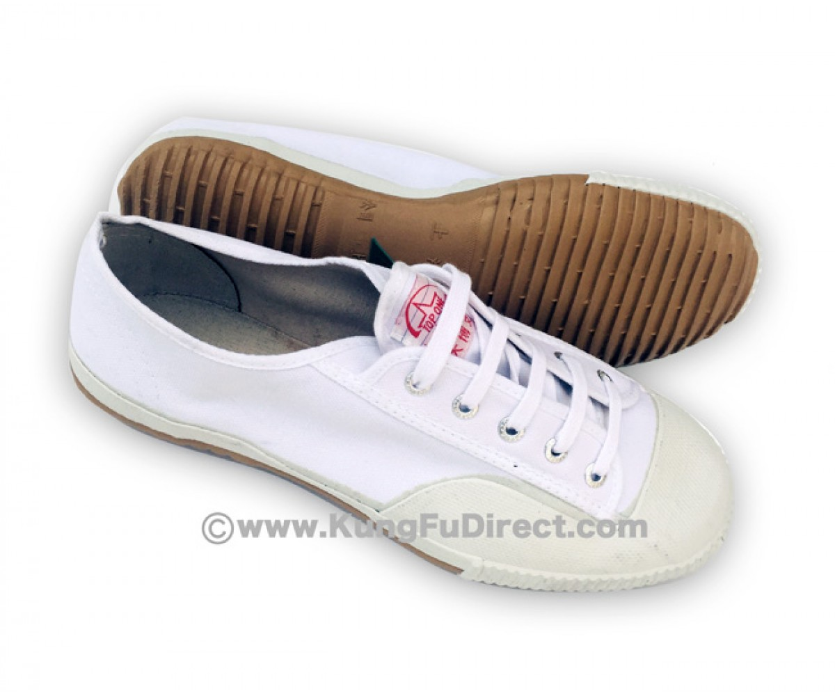 FT014 - Top one Feiyue Shoes - Pure White
