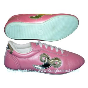 FT023 - Budo Saga Pink Kung Fu Shoes