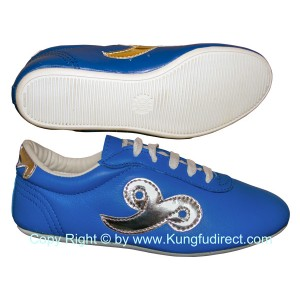 FT024 - Blue Budo Saga KungFu Shoes