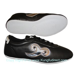 FT025 - Budo Saga Black KungFu shoes