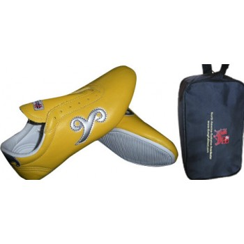 FT027 - Budo Saga Yellow KungFu shoes