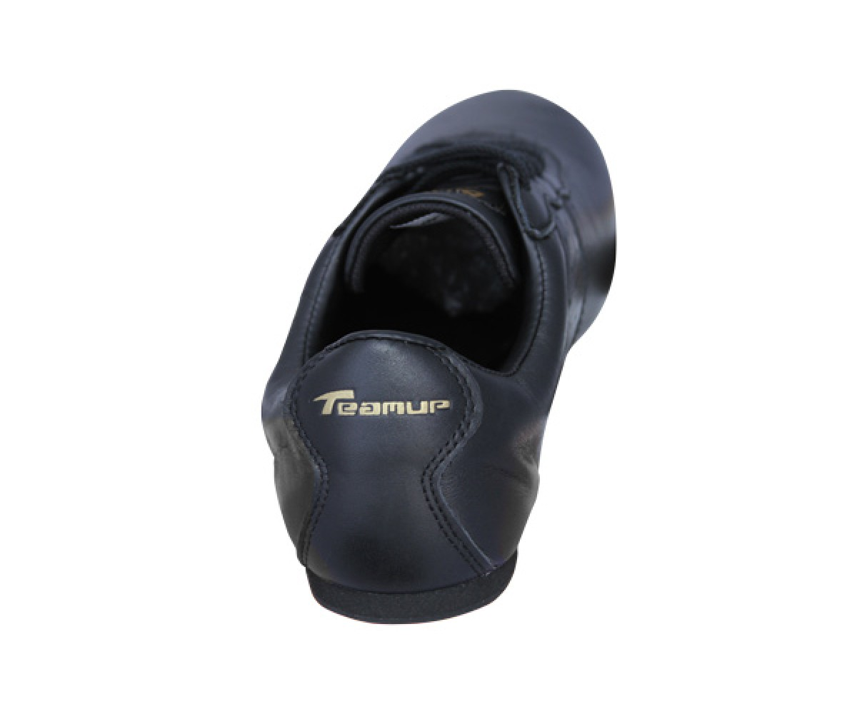 FT005 - NEW- TeamUp Leather Wushu Shoes - Black