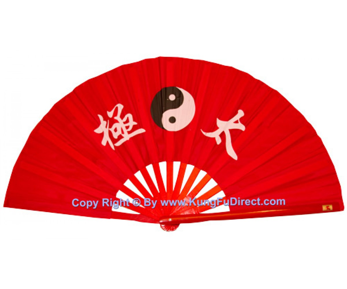 Fan12 - Tai Chi Red Fan