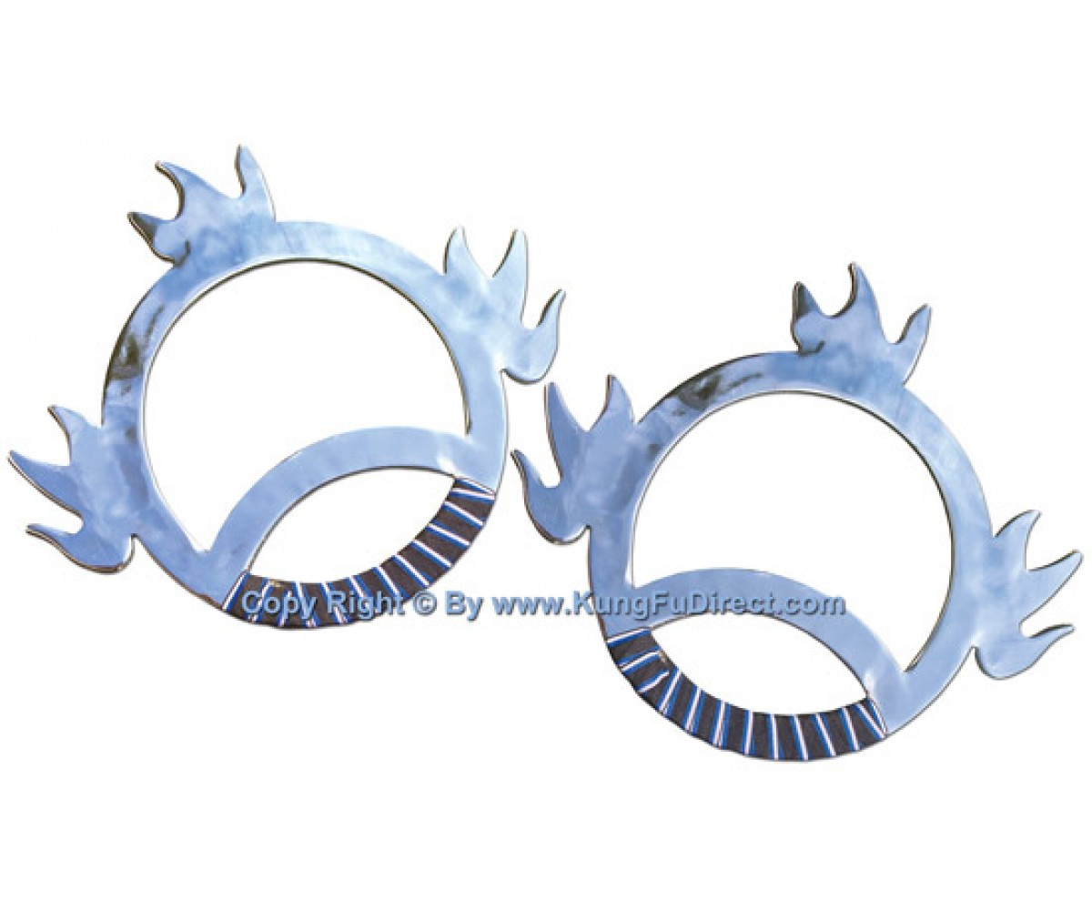 TDS113 - Wind and Fire Wheels Stainless Steel - pair