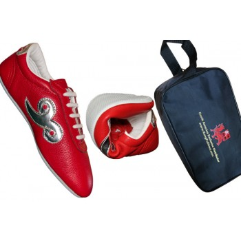 FT022 - Budo Saga Red KungFu Shoes