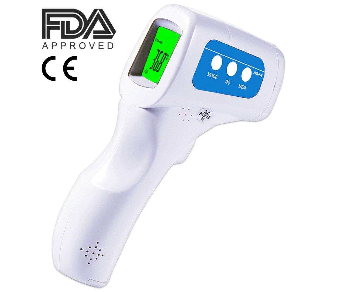 JXB-178 Berrcom Clinical Non-contact Thermometer Infant and Adults Forehead Thermometer