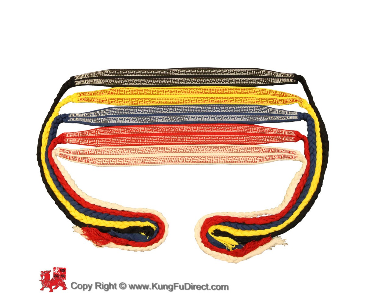 AC007-1 - Traditional Kung Fu Corded Belt 传统练功带