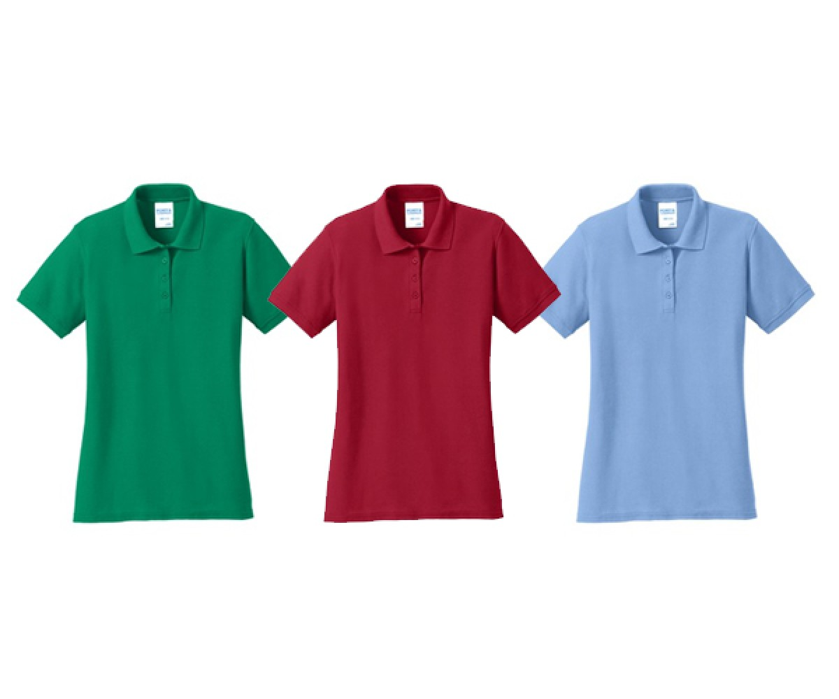 Port & Company® Ladies Core Blend Pique Polo. LKP155.