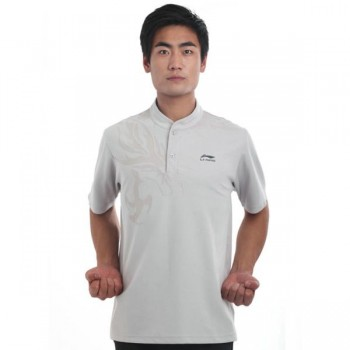 LN099-3 - Li-Ning Training Shirt White (Male)