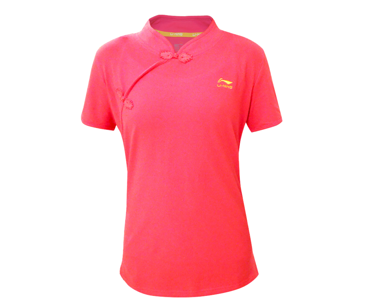 LN142-2 - Li-Ning Training Shirt Pink (Female)