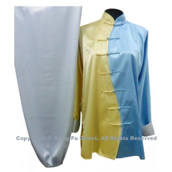 UC083 - Blue and Yellow Tai Chi Uniform