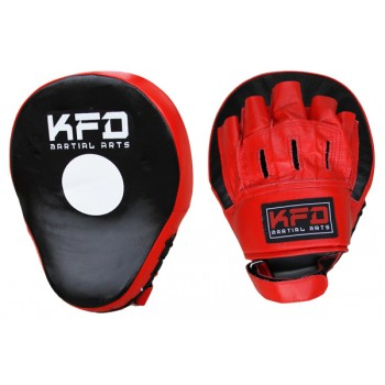 NM008 - Curved Focus Punch Mitts (single) -Leather