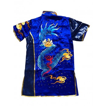 PSU023 - Blue Dragon Embroidery Uniform