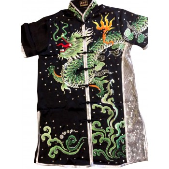 PSU025 - Black Dragon Embroidery Uniform