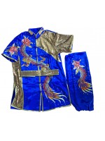 PSU028 - Blue Dragon Embroidery Uniform