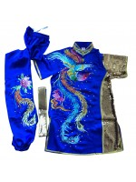 PSU031 - Blue Phoenix Embroidery Uniform