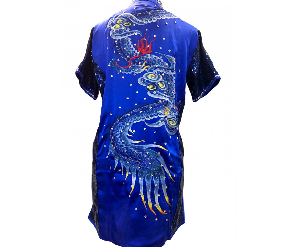 PSU034 - Blue Dragon Embroidery Uniform