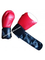 Professional Boxing Gloves Red