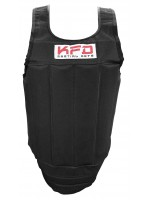 SD003 - KFD Chest Guard Protector Black