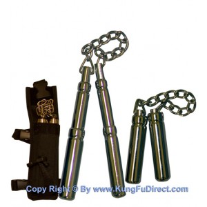 SF012 - Extendable Metal Nunchaku