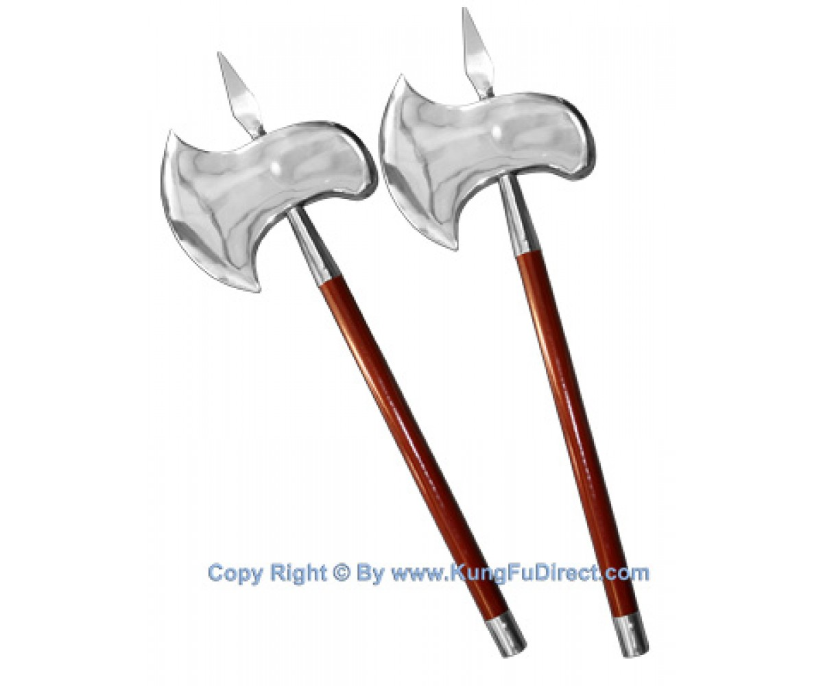 TDS044 - Double Edge Axe Pair 双片双斧