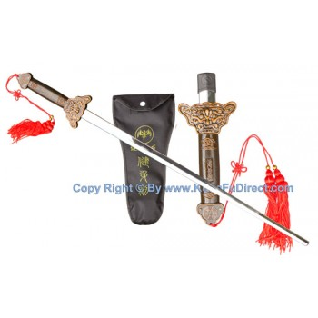 TDS203 - Collapsible Sword Bronze Alloy 红铜伸缩剑