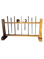 TLW019 - Wooden Stand for Long Weapons