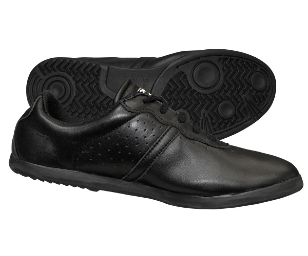 FT003 - New TeamUp Leather Tai Chi Shoes Black