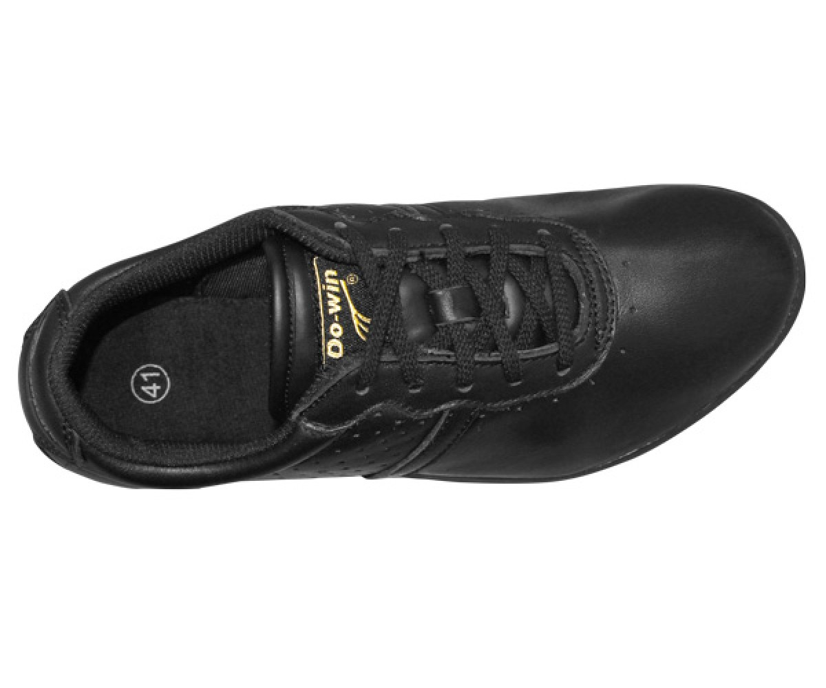 FT003 - New TeamUp Leather Tai Chi Shoes Black size 36